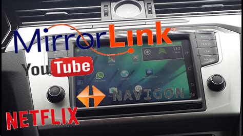 MirrorLink Samsung How-to mirror all apps - YouTube