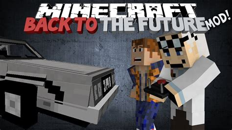 Minecraft: Back To The Future mod! - DELORIAN, HOVERBOARDS
