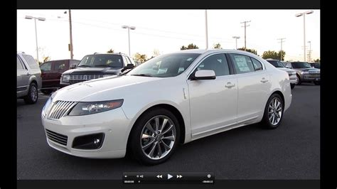 2011 Lincoln MKS EcoBoost Start Up, Exhaust, and In Depth