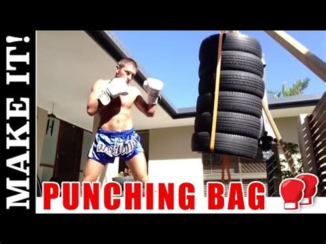 How To Make Punching Bag - Detailed Instructions - YouTube