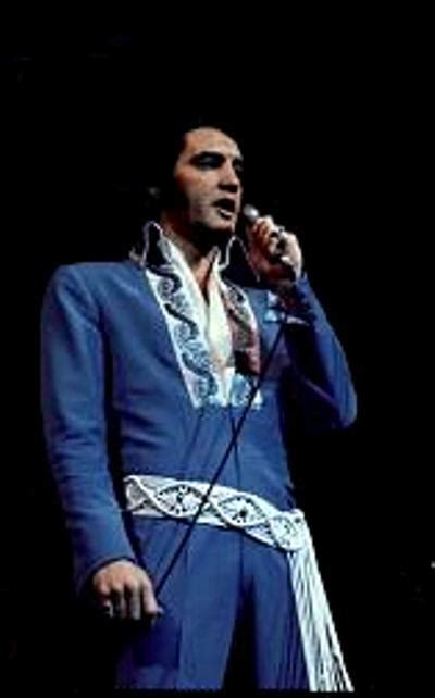 03 - Blue Brocade Suit - Rex Martin's ELVIS Moments in Time