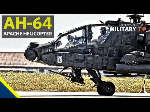 Boeing AH-64 Apache Longbow Helicopter Model