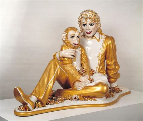 Jeff Koons 「Michael Jackson and Bubbles」 - Tomotubby's Travel Blog