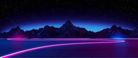 Retro style, Synthwave, Neon Wallpapers HD / Desktop and Mobile Backgrounds