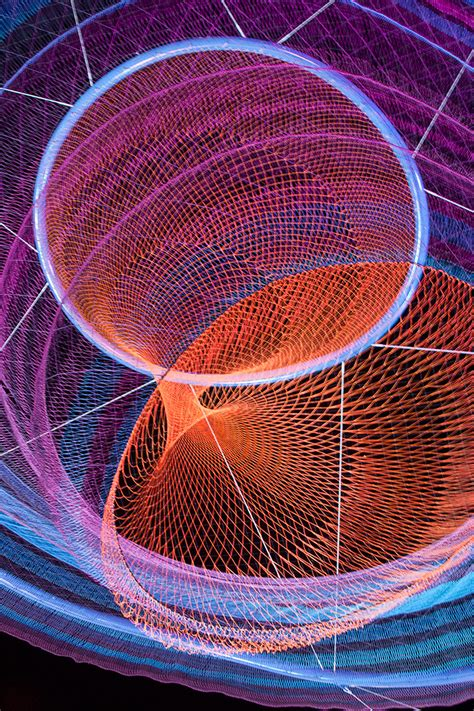 Giant Suspended Net Installations by Janet Echelman | Colossal