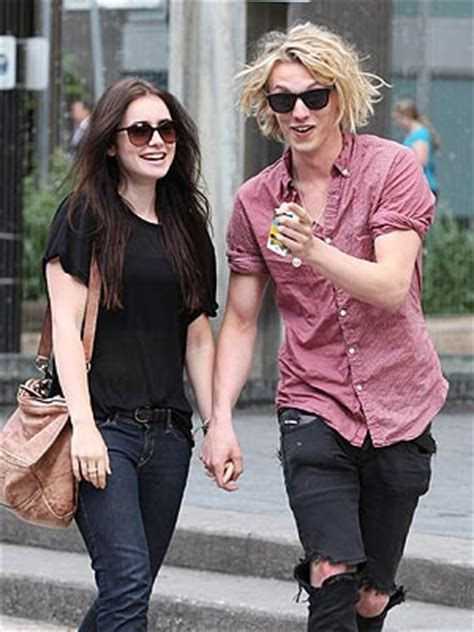 Lily Collins Dating Jamie Campbell Bower? His Engagement